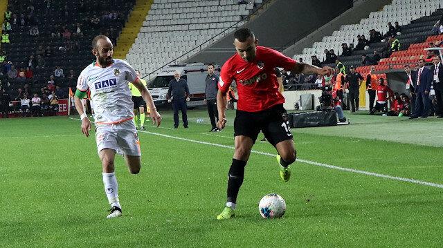 Gaziantep FK – Aytemiz Alanyaspor: 1-1