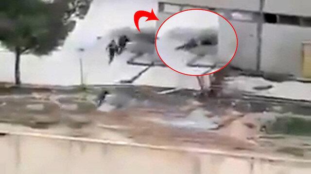 Sızma girişimindeki teröristler Mehmetçiğimiz tarafından vurularak etkisiz hale getiriliyor