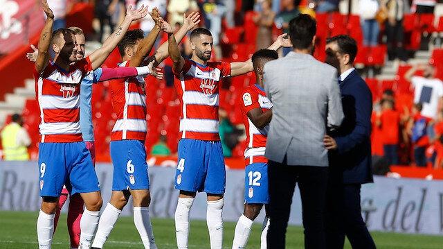 La Liga'da 46 yıl sonra bir ilk: Granada lider oldu
