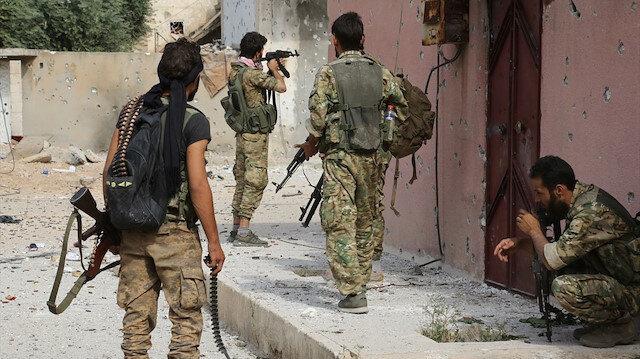 Suriye'de PKK saflarında savaşan 9 yabancı etkisiz hale getirildi