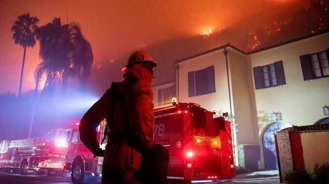 ABD'de yangın bu kez zengin muhitinde: LeBron James ve Arnold Schwarzenegger evlerini boşalttı