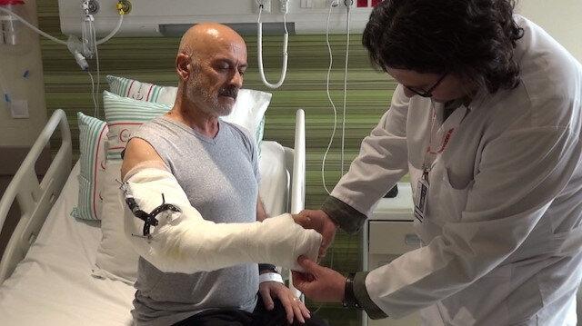 Hayata tutunduran ameliyat: Bacağından damar sırtından kas ve deri alındı