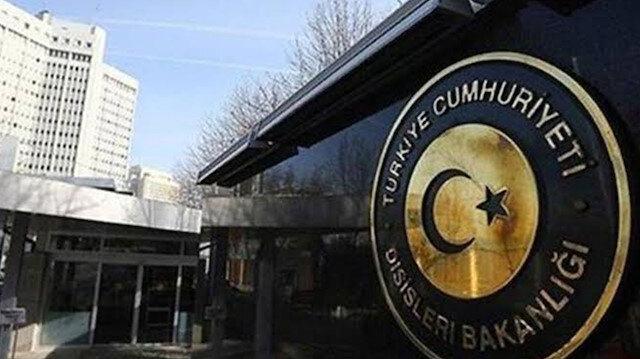 Türkiye'den ABD Temsilciler Meclisi'ne kınama