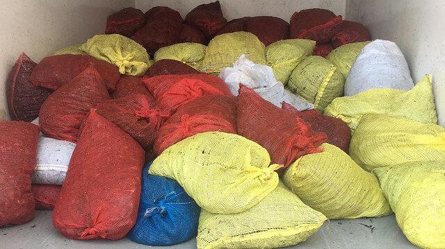 Edirne'den yasa dışı yollarla Yunanistan'a götürülmek istenen 1 ton 600 kilo kaçak midye ele geçirildi