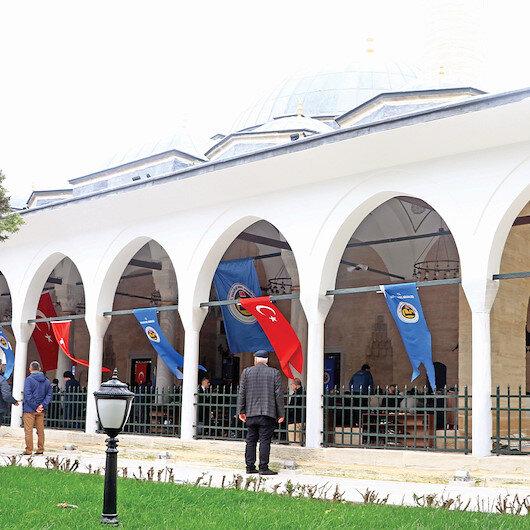 466 yıllık cami ibadete açıldı