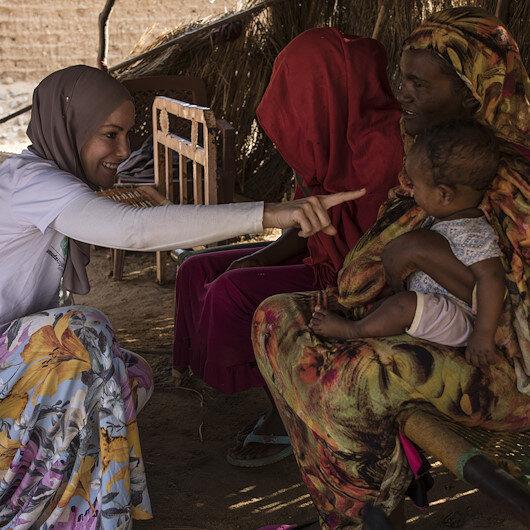 """التركية """"أوزجليك"""" توزع مساعدات على متضرري فيضانات السودان"""