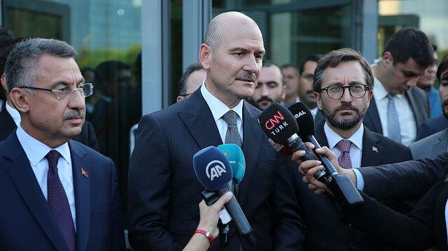 İçişleri Bakanı Süleyman Soylu: DEAŞ mensuplarının oteli değiliz