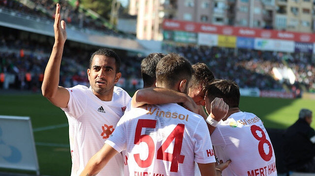 Yukatel Denizlispor - Demir Grup Sivasspor: 0-2