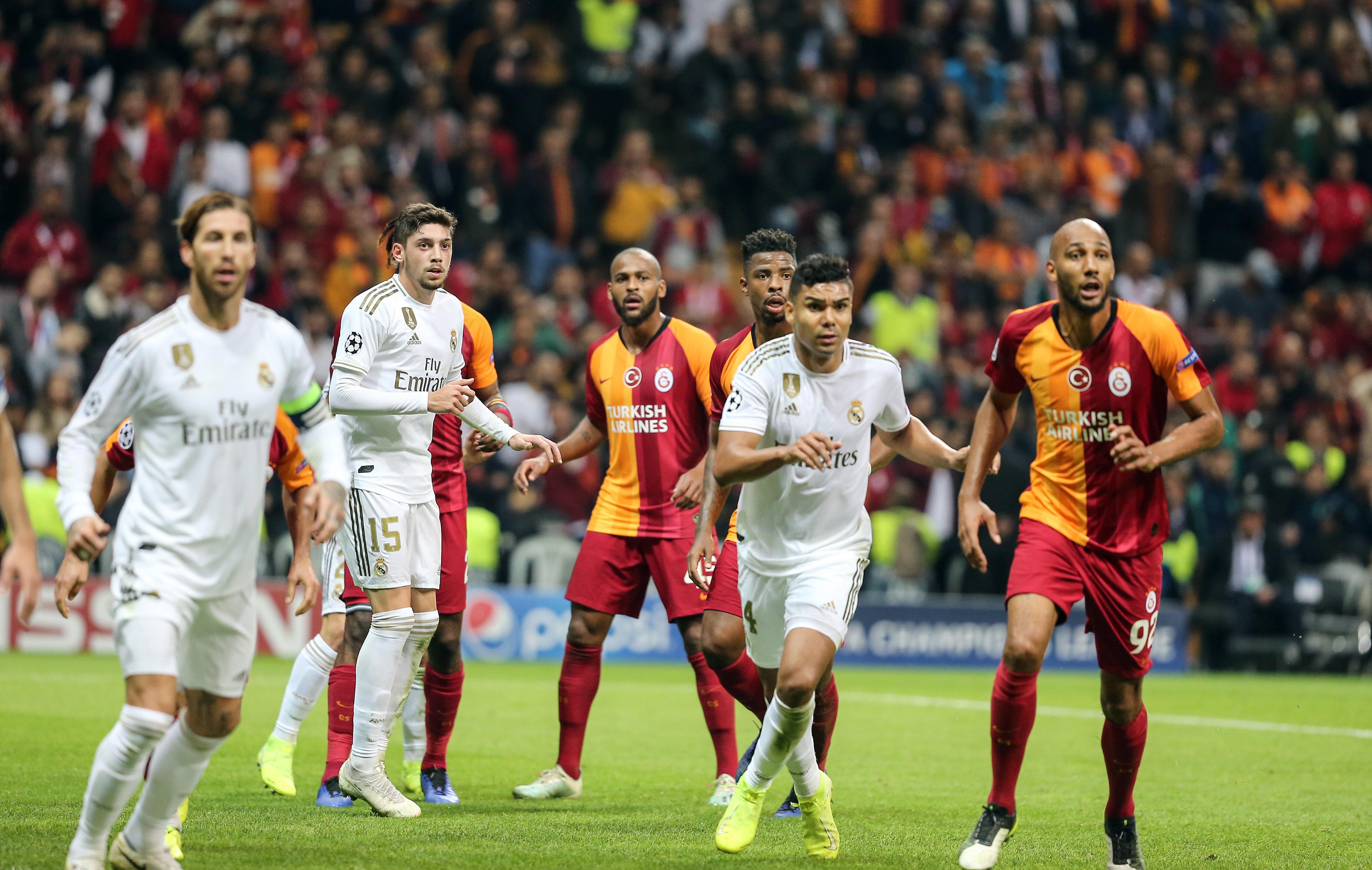 Galatasaray, Real Madrid'e sahasında 1-0 kaybetmişti.