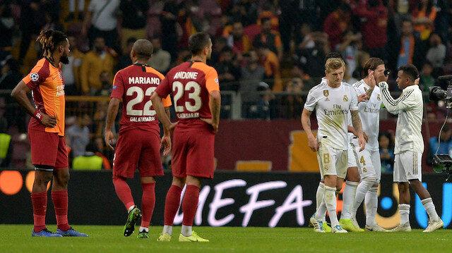 Galatasaray, Avrupa kupalarında yaptığı son 10 karşılaşmada 3 beraberlik ve 7 yenilgi aldı.
