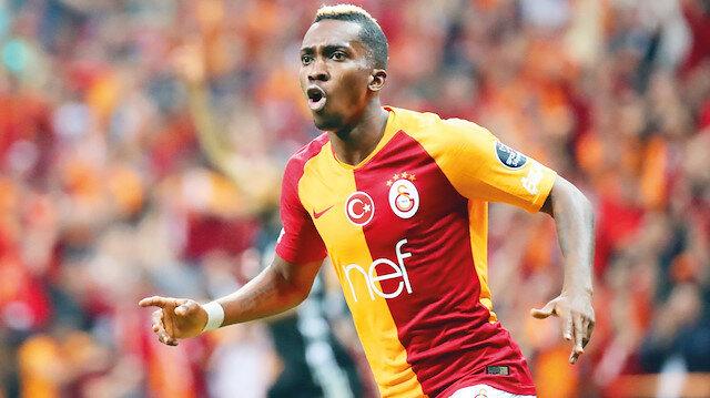 Onyekuru, geçen sezon Galatasaray'ın kazandığı şampiyonluğa büyük katkı sağlamıştı.