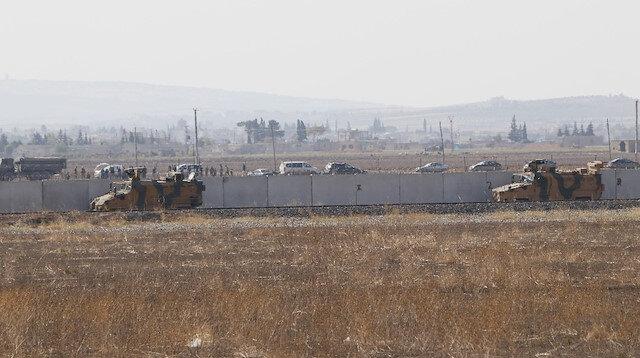 Rusya ile 2. ortak devriye tamamlandı: Ayn el Arab'ın doğusundaki hat üzerinde gerçekleştirildi