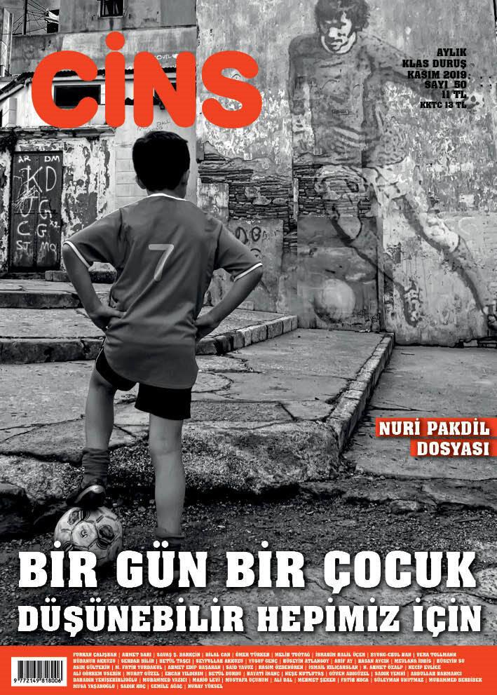 Cins dergi kasım sayısı