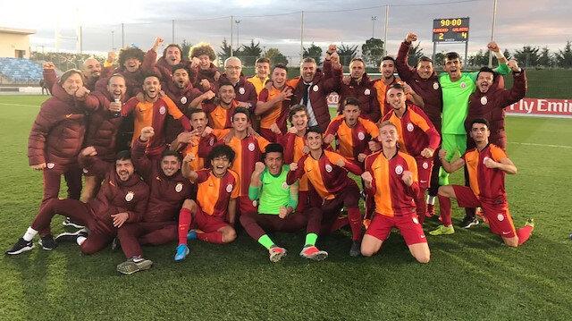 Galatasaray'ın gençleri Real Madrid deplasmanında kazandı
