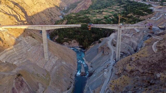 50 yıllık hayal gerçek oluyor: Botan Köprüsü Türkiye'nin en yükseği olacak
