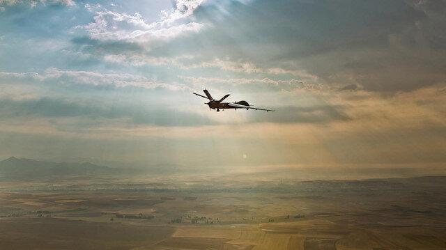 Türk Havacılık ve Uzay Sanayii AŞ tarafından üretilen insansız hava aracı ANKA.