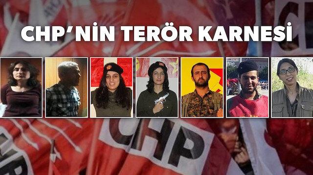 CHPli siyasetçilerin arka çıktığı PKKlı ve DHKP-Cli teröristler