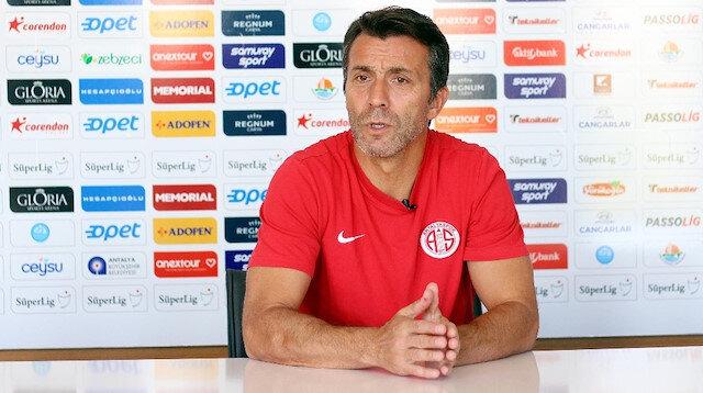 Bülent Korkmaz yönetimindeki Antalyaspor, 10 haftada 11 puan topladı.
