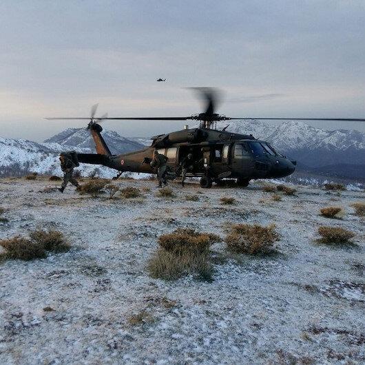 İçişleri Bakanlığı: Ağrı'da hava destekli operasyonda 8 terörist etkisiz hale getirildi