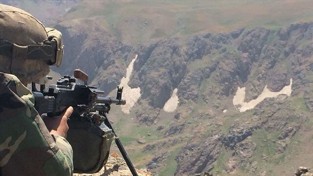 تحييد 8 إرهابيين خلال عملية أمنية شرقي تركيا