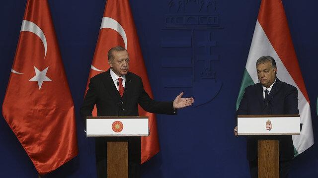 Cumhurbaşkanı Erdoğan: Macaristanın ABye girme sürecinde bize verdiği desteğe müteşekkirim