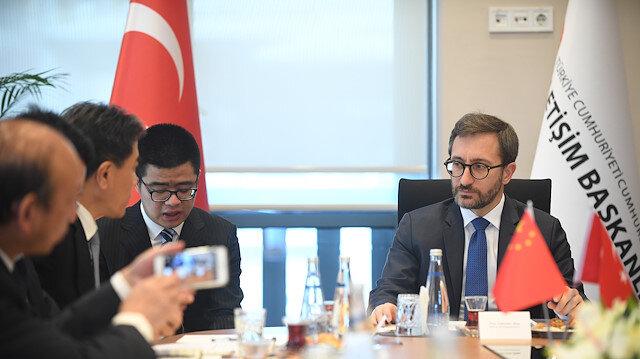 ألطون يؤكد على أهمية التعاون الإعلامي بين الصين وتركيا