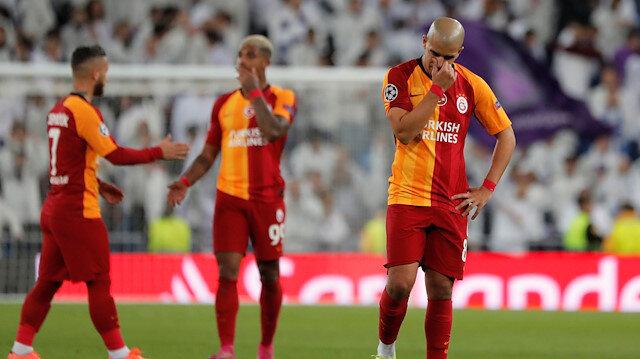 Galatasaray, Real Madrid yenilgisi sonrası Şampiyonlar Ligi'ne veda etti.