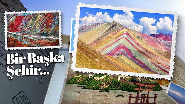 Yeryüzünün boya paleti: Gökkuşağı dağları