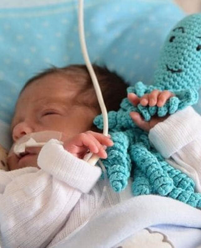 Erken doğan bir prematüre bebek