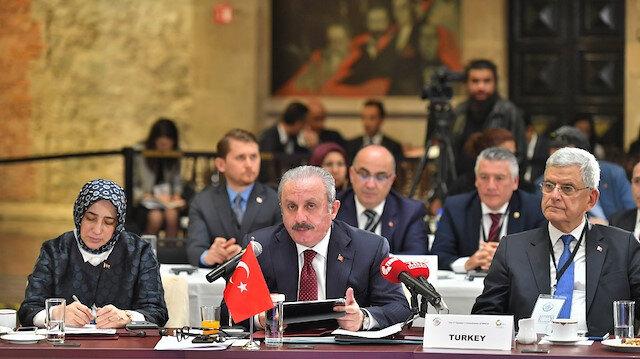"""""""شنطوب"""" يدعو نظراءه في """"ميكتا"""" للمشاركة بمئوية تأسيس البرلمان التركي"""