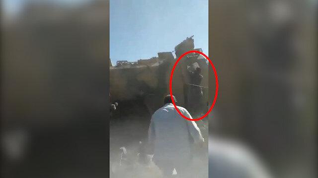 YPG/PKK destekçileri TSKya ait zırhlı aracın kapısını açmaya çalıştı