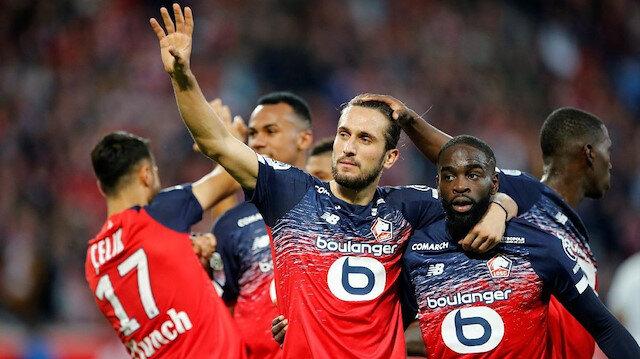 Yusuf Yazıcı bu sezon Lille formasıyla çıktığı 15 karşılaşmada 1 gol, 4 asist ile oynadı.