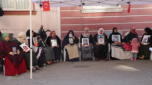 Another mother joins sit-in against PKK terror