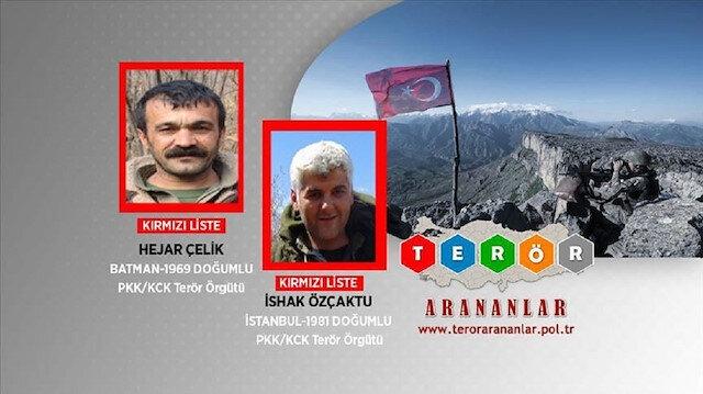 """الداخلية التركية تعلن تحييد قياديين اثنين لـ""""بي كا كا"""" الإرهابية"""