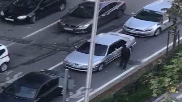 Yayaya yol vermeyen sürücüye lokumlu ceza kamerada