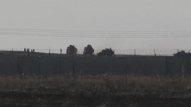Türk ve Rus askerleri 3. ortak devriyesi kamerada