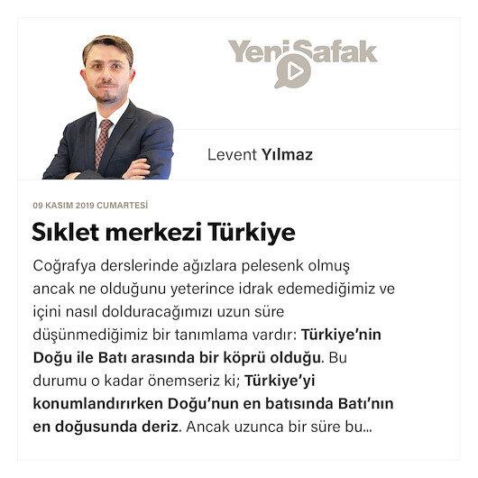 Sıklet merkezi Türkiye