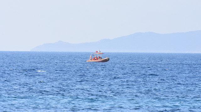Bodrum'da düzensiz göçmenlerin bulunduğu bot battı: 1 kişi kayıp
