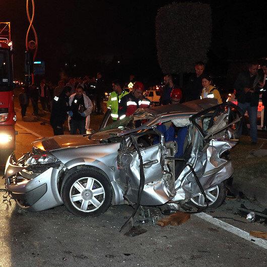 Sakarya'da feci kaza: 3 ölü 7 yaralı