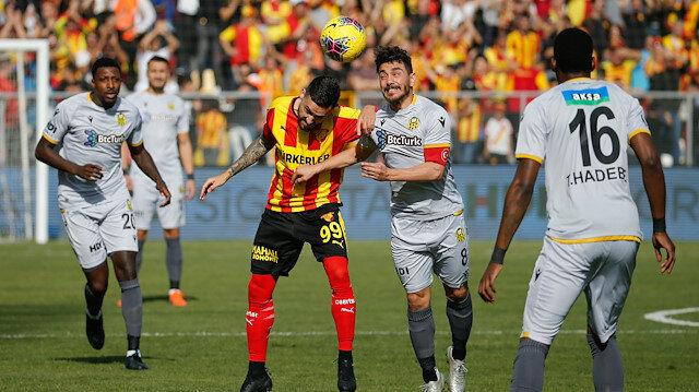 Göztepe-Yeni Malatyaspor: 1-1
