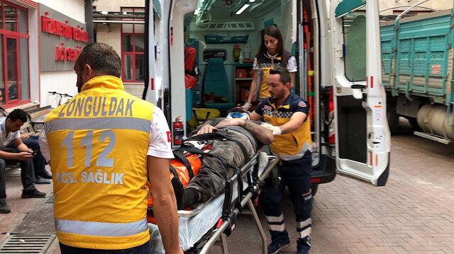 Zonguldak'ta maden ocağında göçük: 3 işçi yaralı