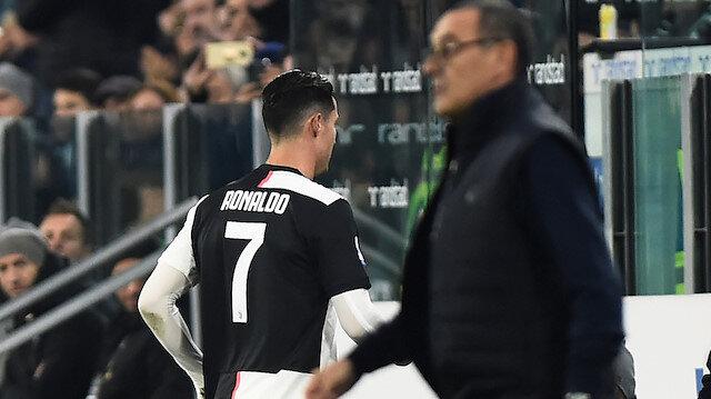 Ronaldo çok sinirlendi, direkt soyunma odasına gitti