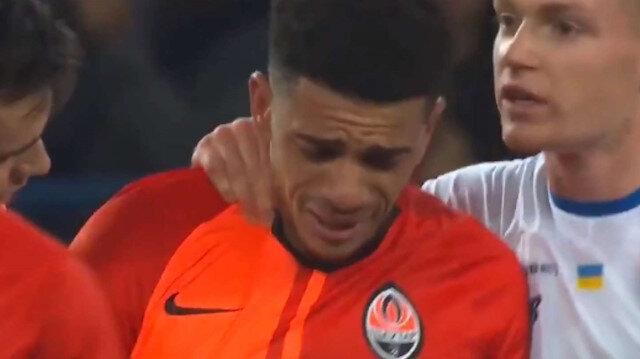 Dinamo Kiev taraftarından Taison'a ırkçı saldırı