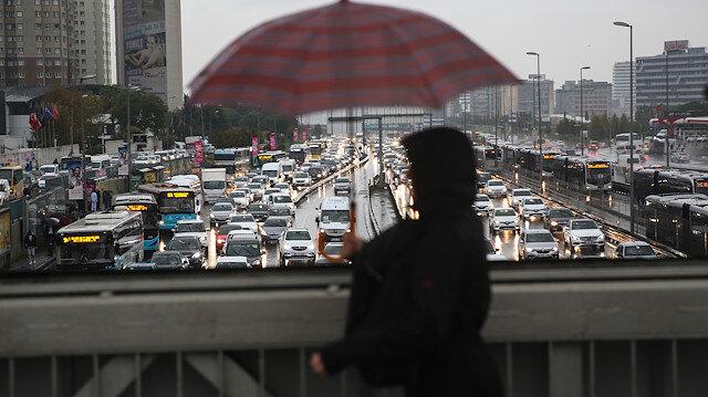 Meteorolojiden İstanbul ve 10 ile yağış uyarısı