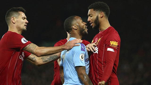 Liverpool-Manchester City maçında ikili arasında gerginlik yaşanmıştı.