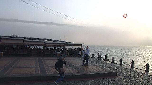 İstanbul Boğazı'nda etkili sis