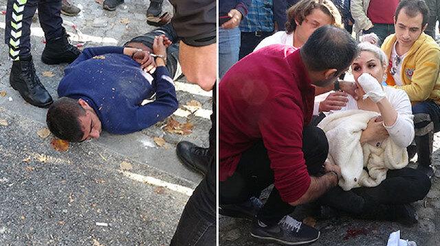 İstanbul Beyoğlu'nda dehşet: Kendisine para vermeyen kadın turiste demir sapladı
