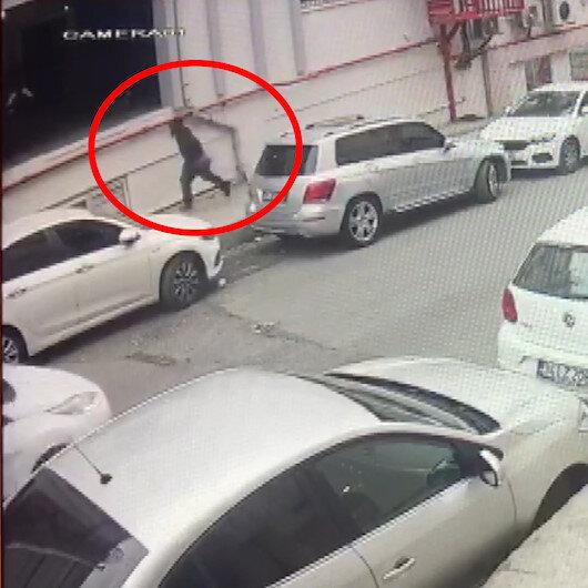 Silahlı soyguncuyu vatandaşlar kıskıvrak yakaladı