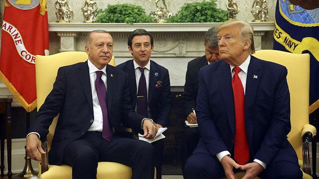 Erdoğan ve Trump zirvesine terörle mücadele damga vurdu: Erdoğan'dan dünya kamuoyuna mesaj