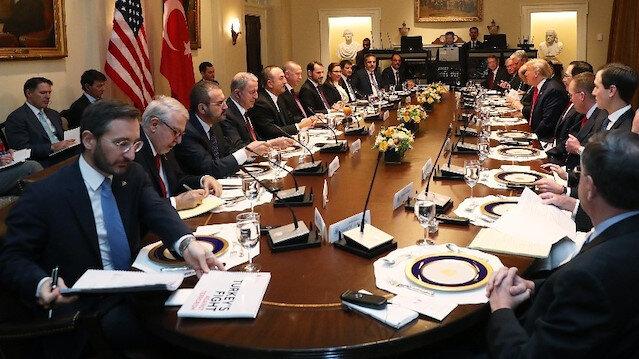 Erdoğan-Trump görüşmesinde masada dikkat çeken dosya detayı